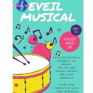Atelier éveil musical enfant Music et Song