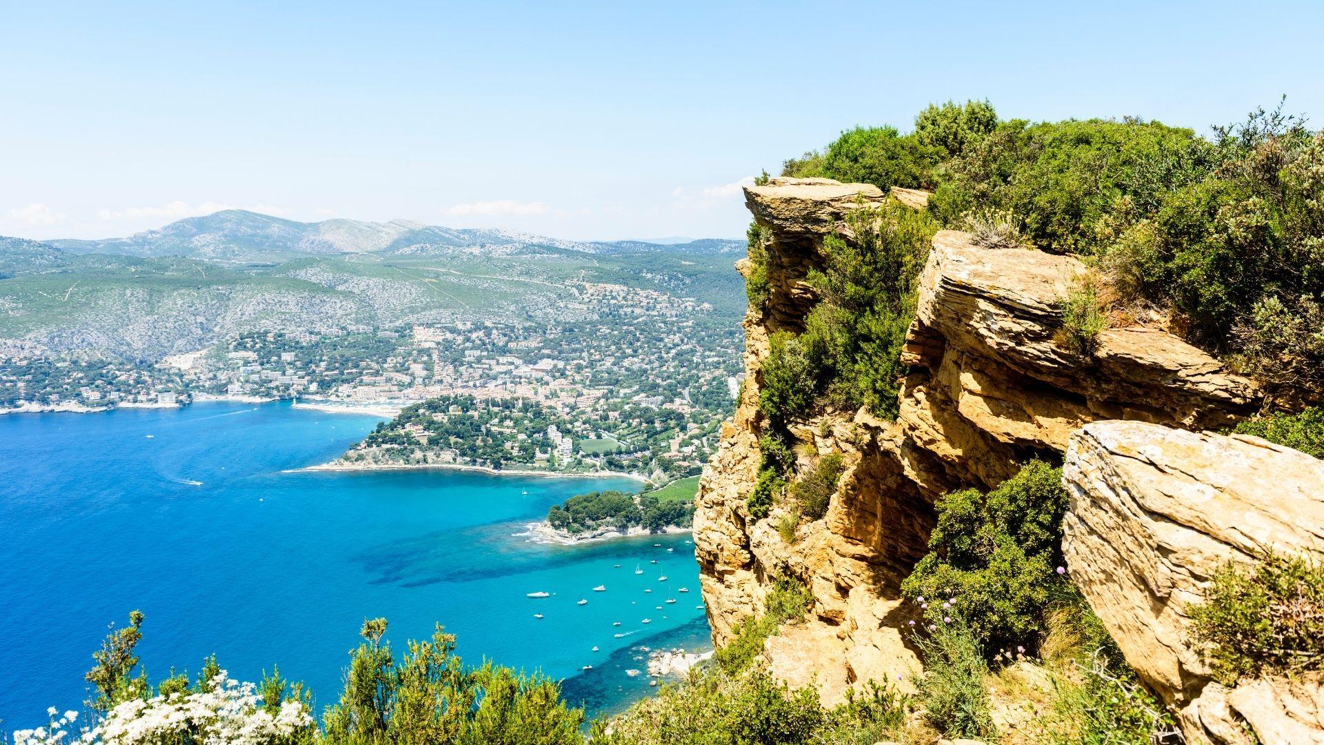Découvrir les calanques de Marseille à Cassis
