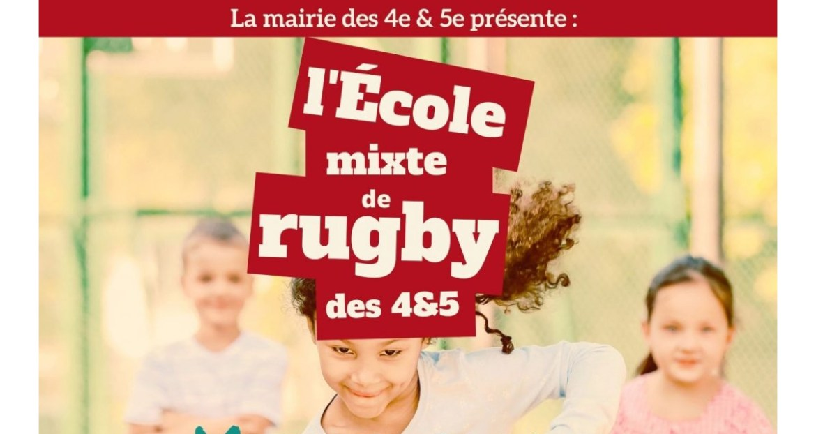 Ecole mixte rugby marseille
