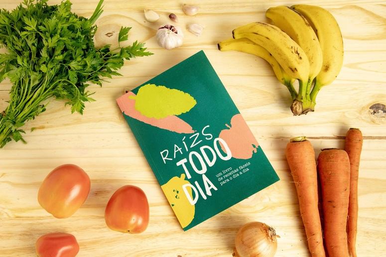 Startup lança livro de receitas com orgânicos