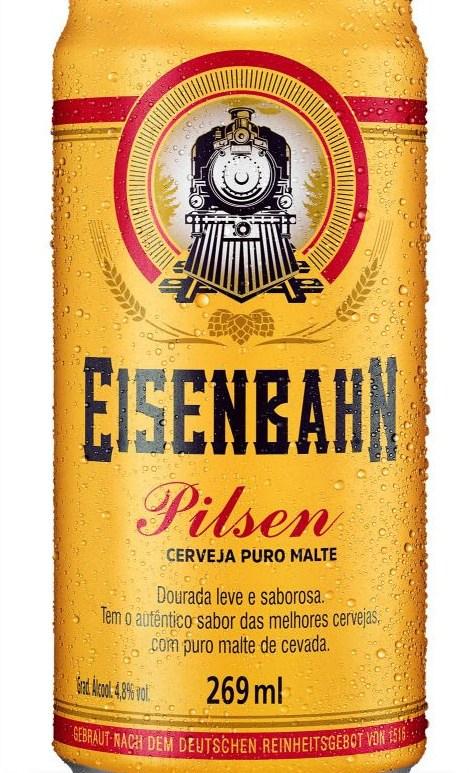 Eisenbahn aposta em lata de 269 ml estilo pilsen