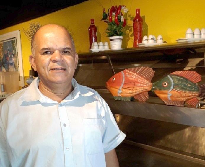 A ótima pescada com catupiry do Dona Eva (Guarujá)
