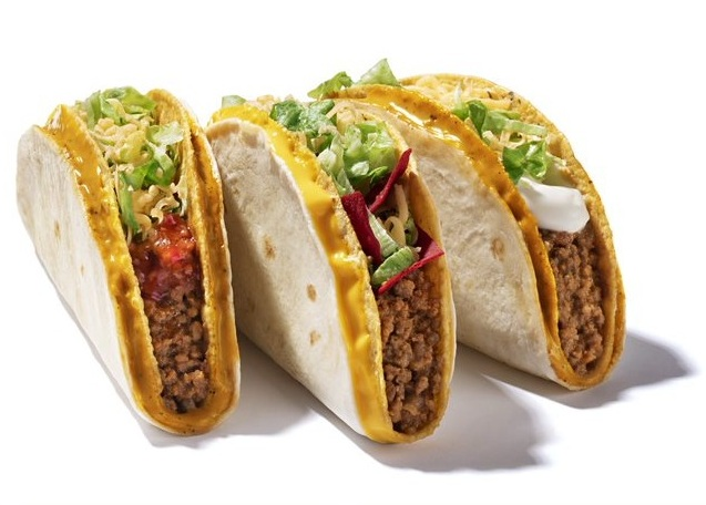 Taco Bell novos sabores divulgacao