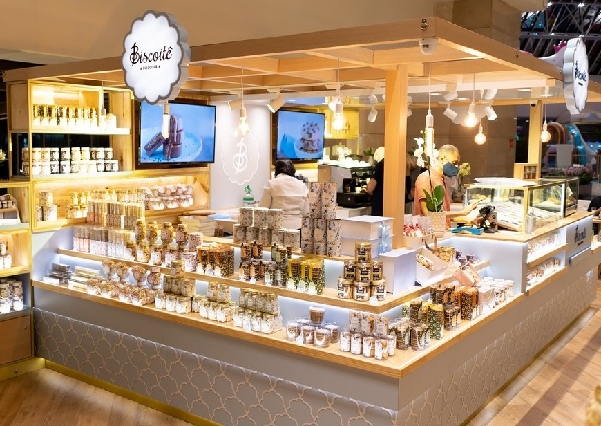 Biscoitê inaugura 3 lojas em shoppings de São Paulo