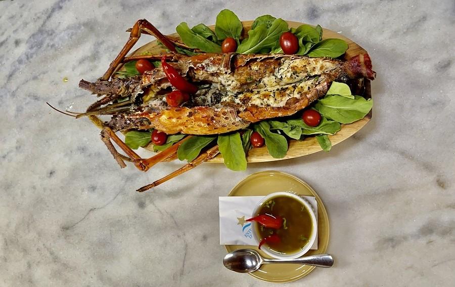 Estrela DAgua participa de festival com lagosta foto divulgacao
