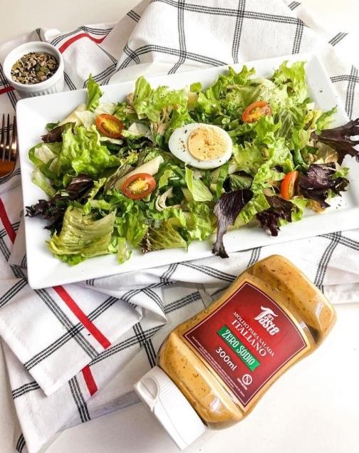 Mr Taste faz molhos para saladas zero sodio foto divulgacao