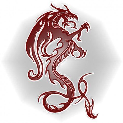 Dragon-Rojo-relieve cuaderno del dragon, orchard road, singapur