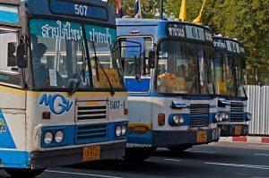 Autobuses, Bangkok