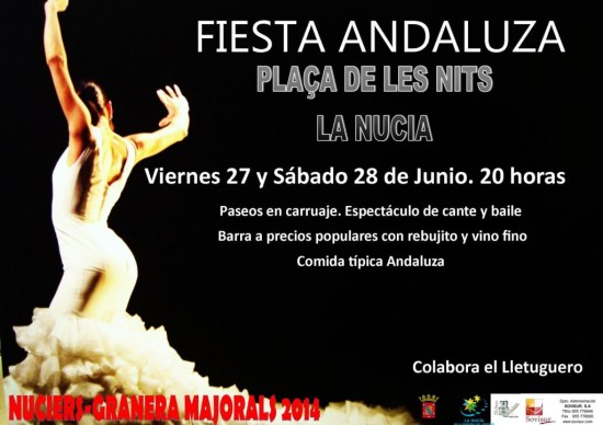 La Nucia Cartel Fiesta And 2014