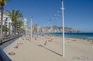Inicio de playa de Levante