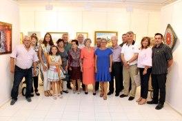 exposición de la escuela de dibujo y pintura de La Barqueta