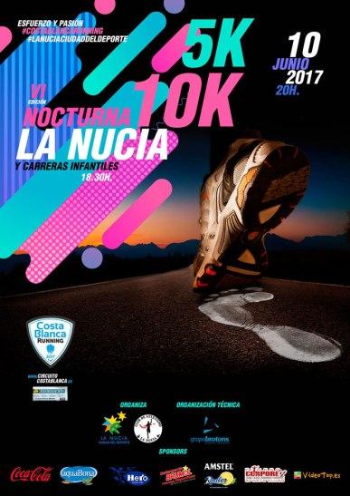 los 10 k y 5 k nocturnos vuelven a La Nucía
