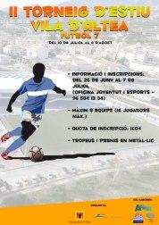 II edición del Torneig de Fútbol 7 Vila d'Altea