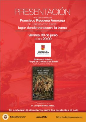 """Novela histórica """"entre moros, cristianos y corsarios"""""""