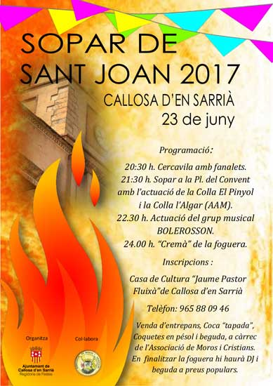 Sopar de Sant Joan