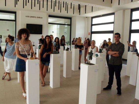"""Alumnos de Bellas Artes exponen """"Fusión"""" en la Fundación Frax"""