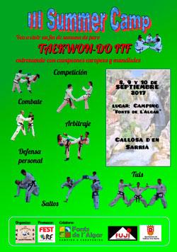 III Summer Camp de Taekwondo