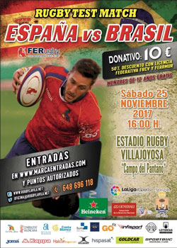 españa brasil rugby