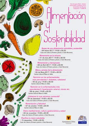 Conferencias sobre Alimentación y Sostenibilidad