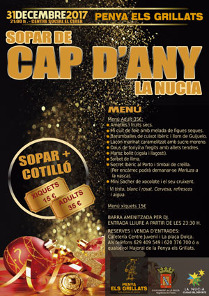 cap d'any Grillats