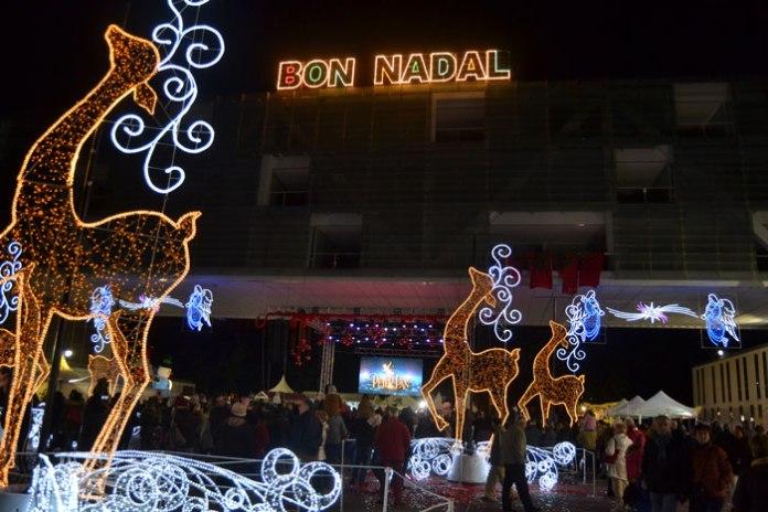 plaza de la navidad benidorm 2017