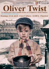 El musical de Oliver Twist llega a FInestrat para el público familiar