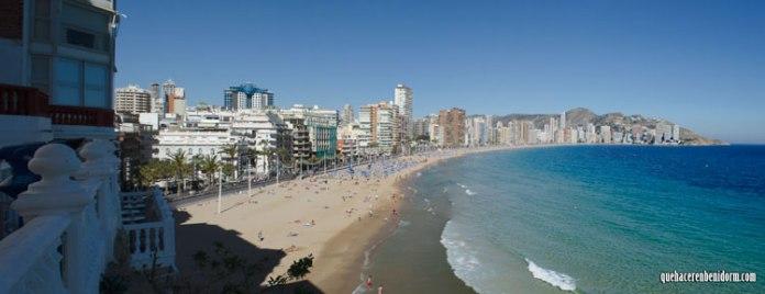 Panorámica de la Playa de Levante
