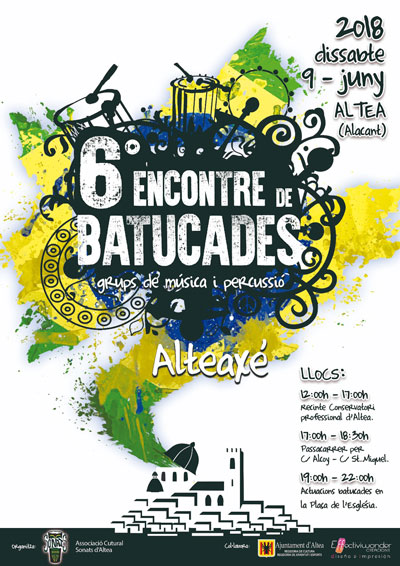 encontre de batucades - batukadas altea