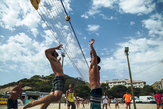 torneo Voley playa cala de Finestrat
