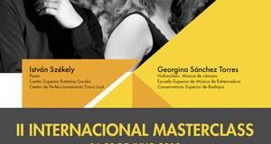 Concierto alumnos Máster Class de Piano y Chelo