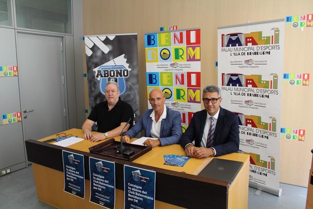 El Club Balonmano Benidorm presenta la campaña de abonos para la temporada 2018-2019