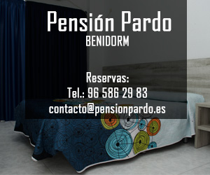 Pensión Pardo, lugar en el que dormir en Benidorm