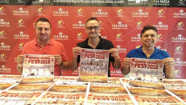 Congreso Nacional de Taekwondo ITF La Nucia 2018