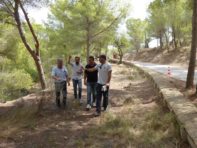 nuevo sendero adaptado en La Nucia