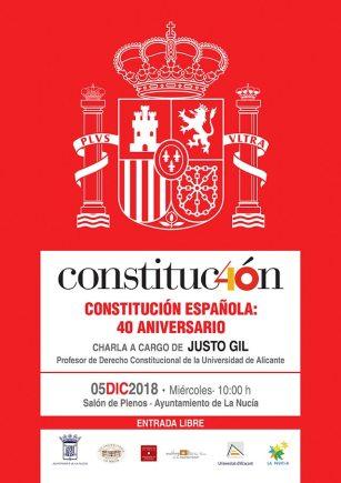 La Nucia acto conmemorativo constitucion 2018