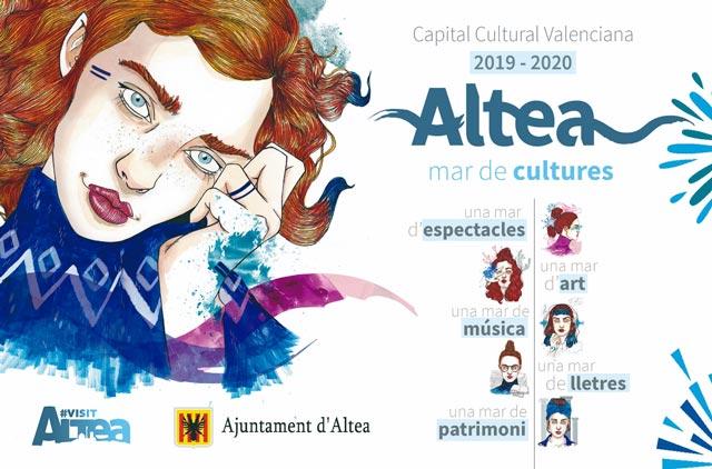 Altea capital valenciana Cultura 2019 2020