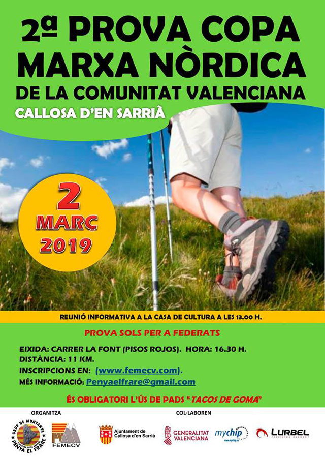 2 marcha nordica Callosa 2019