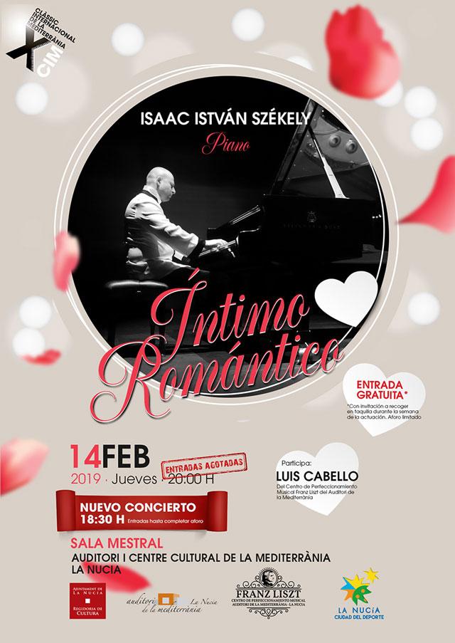 La Nucia Concierto piano Isaac Szekely 2019