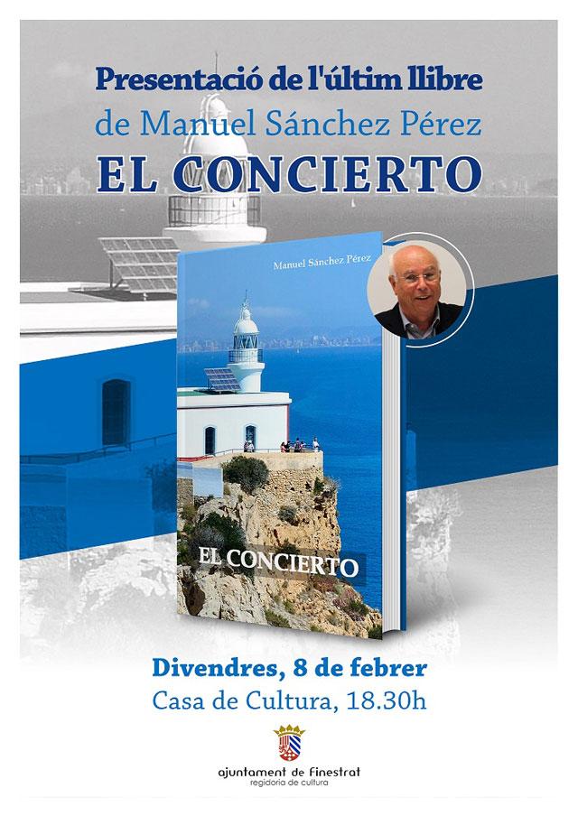 Presentacion libro Finestrat El Concierto 2019