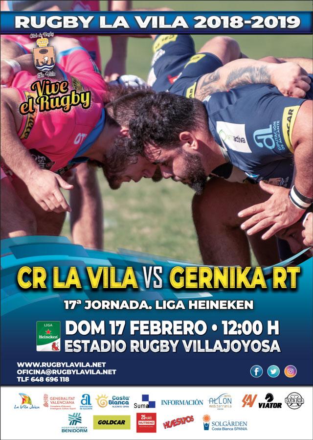 Rugby La Vila vs Gernika RT 2019