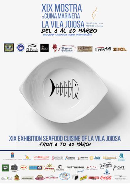 XIX Mostra de Cuina Marinera La Vila Joiosa 2019