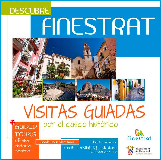 Descubre Finestrat, visitas guiadas por el casco antiguo 2019