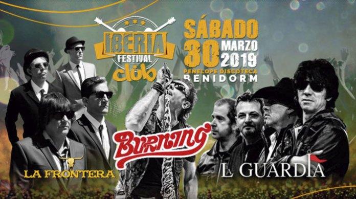 Cartel del Iberia Festival Club 2019