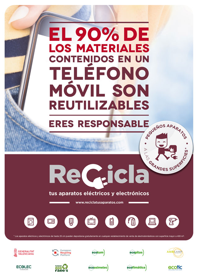 La Vila Joiosa Campanya Recicla tus aparatos 2019
