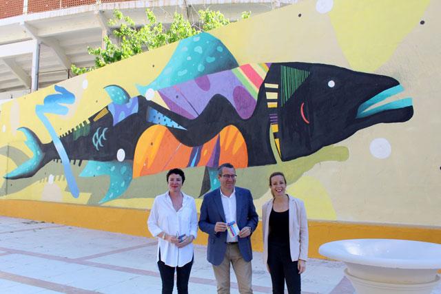 Arte urbano en Benidorm con «BenidormExpone»