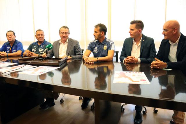 Benidorm amistoso Argentina Honduras 2019