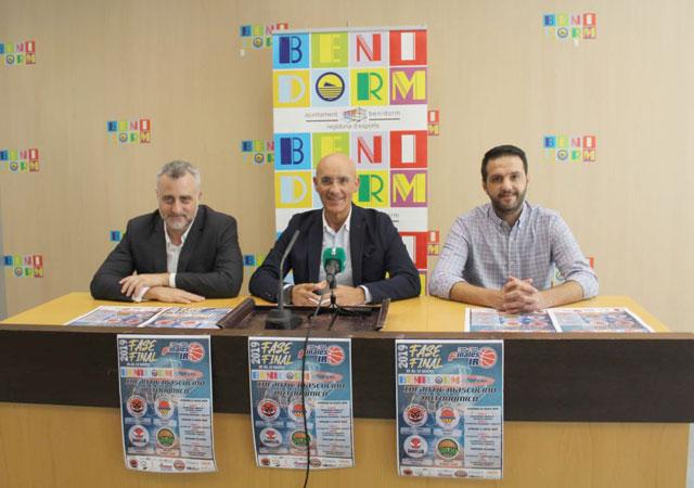 Fase Final Baloncesto Intantil Benidorm 2019