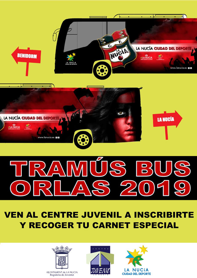 La Nucia TRAMUS bus ORLAS 2019