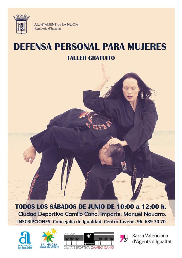 La Nucia taller Defensa Personal 2019