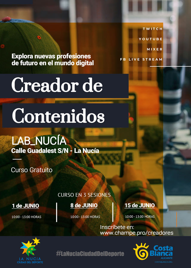Lab Nucia  Curso Creador Contenido 2019